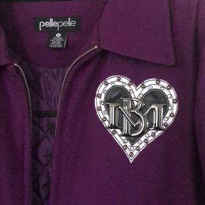Pelle Pelle Jackets & Coats - Like New Women's Pelle Pelle Coat💜 Very Nice🤗